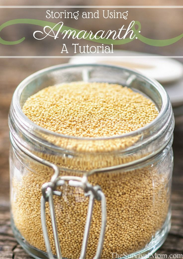 High in protein, amaranth is a versatile grain that has a long shelf life. Learn all about amaranth and how to cook it in this tutorial.