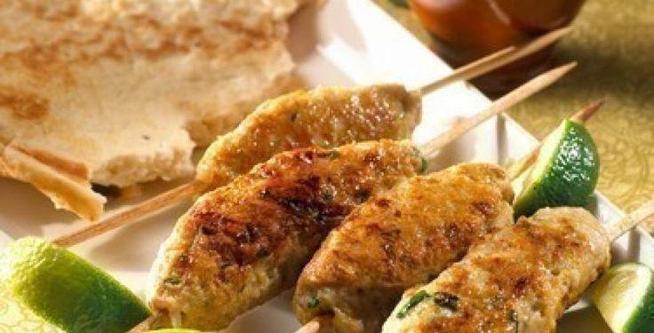 Kylling kebab