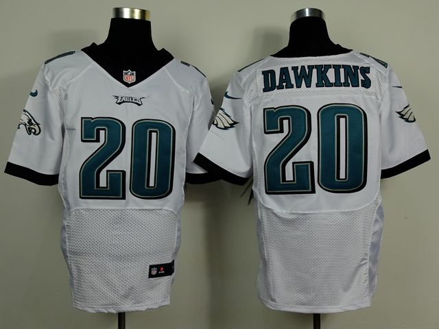 85bec33121b ... italy where can i buy nike eagles brian dawkins white mens stitched nfl  new elite jersey reduced nike mens nfl philadelphia ...
