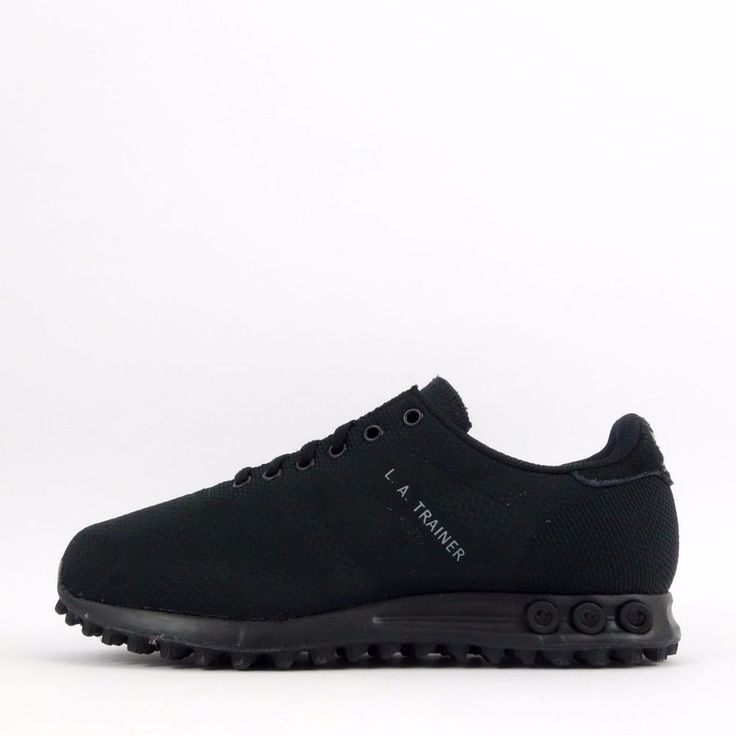 adidas la trainer all black