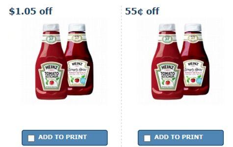Rare $1.05 and $0.55 Heinz Ketchup Coupons - Raining Hot Coupons