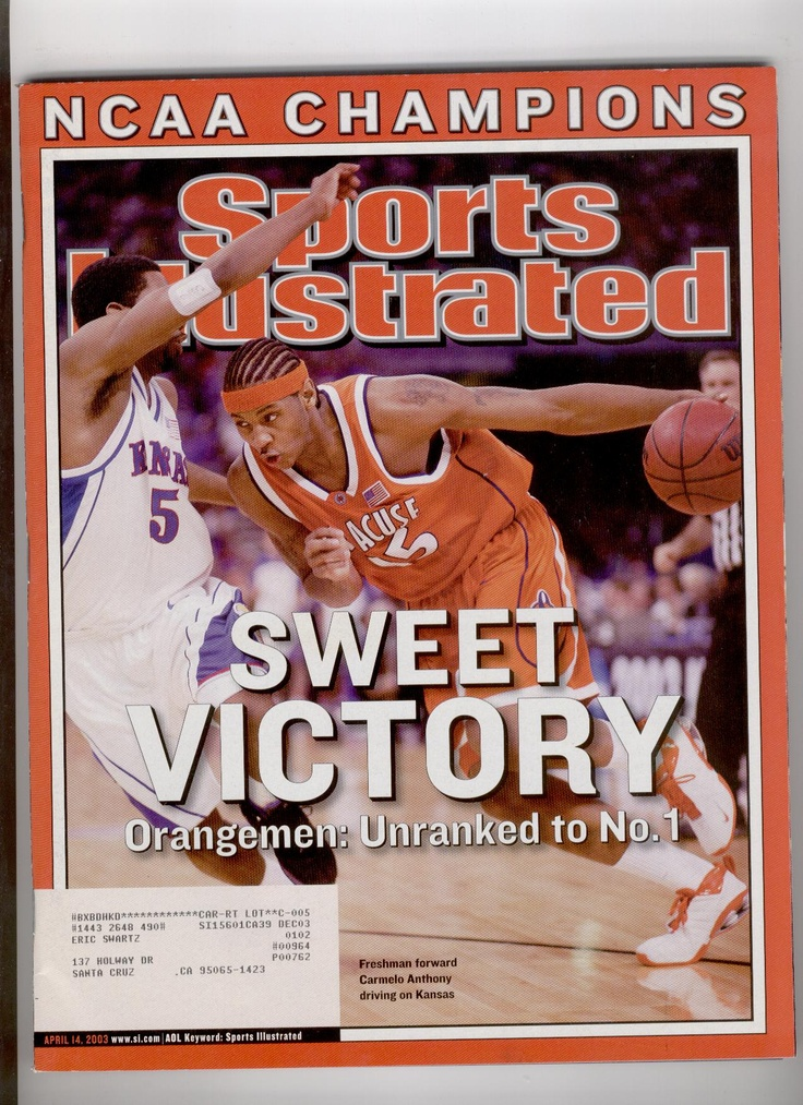 older cover Syracuse basketball, Ncaa champion, College