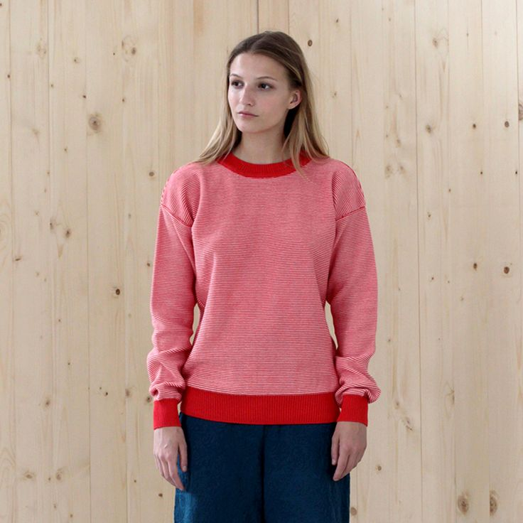 sweater KELE red