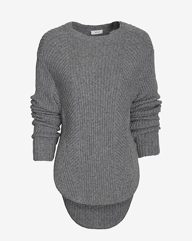 Love the baseball hem! A.L.C. Torrey Baseball Hem Sweater Get the best deals on fall sweaters at Simba Deals! Check us out: bit.ly/1sQco20