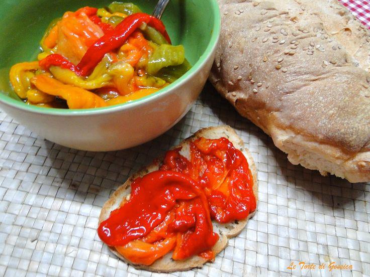 Peperoni arrosto cotti al microonde - Cottura Veloce