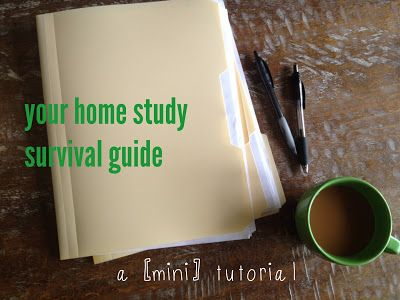 "Home study survival guide: a great ""how-to"" to get through the adoptive home study process! #adoption #homestudy"