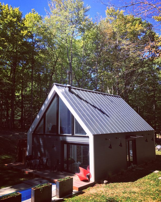 Elegant Modern Upstate Ny Cabin In The Homeaway Red Hook Cottage Rental Ideal Home Vacation Rental Contemporary house upstate ny