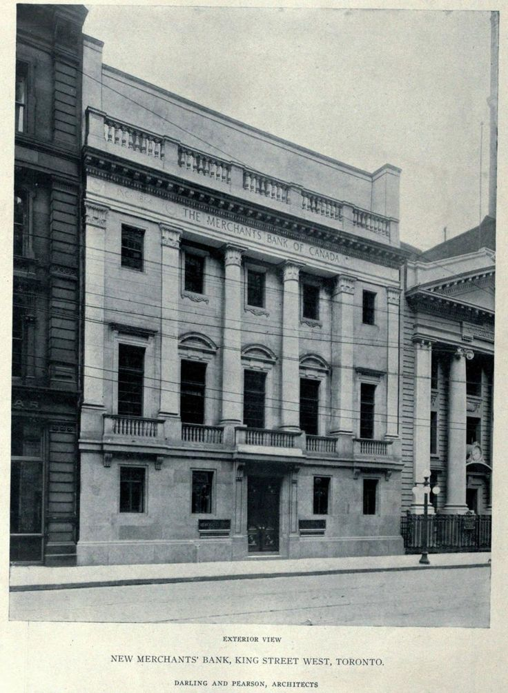 The Merchants Bank of Canada, King St. W.