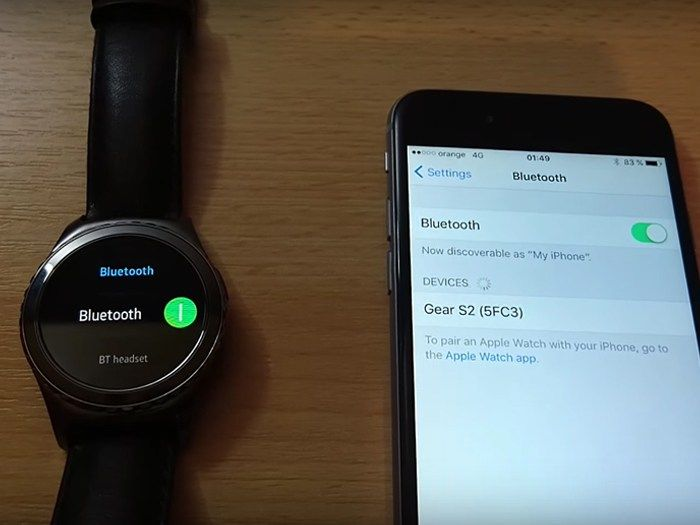 Samsung Gear S2 iPhone Compatible Advantages . Smartwatch Class