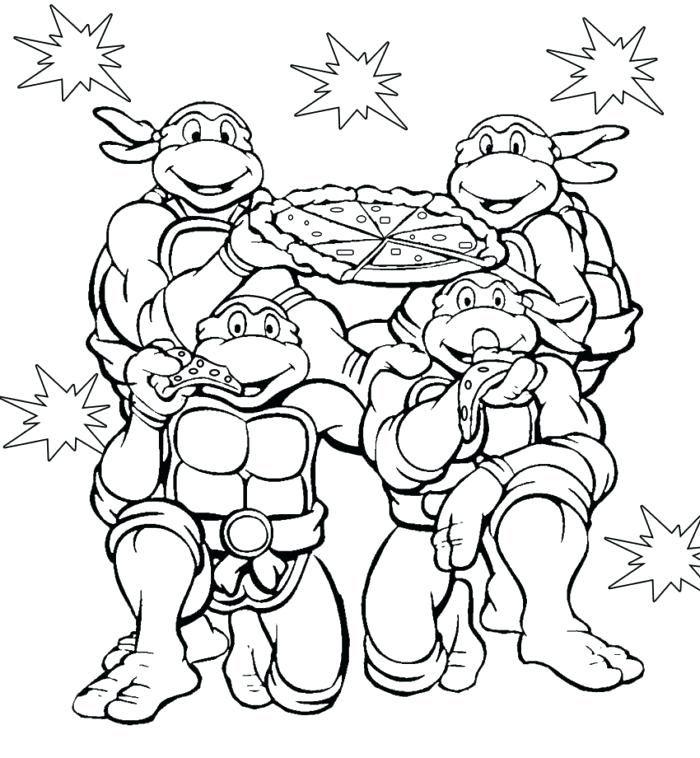Teenage Mutant Ninja Turtles Coloring Pages | Turtle ...