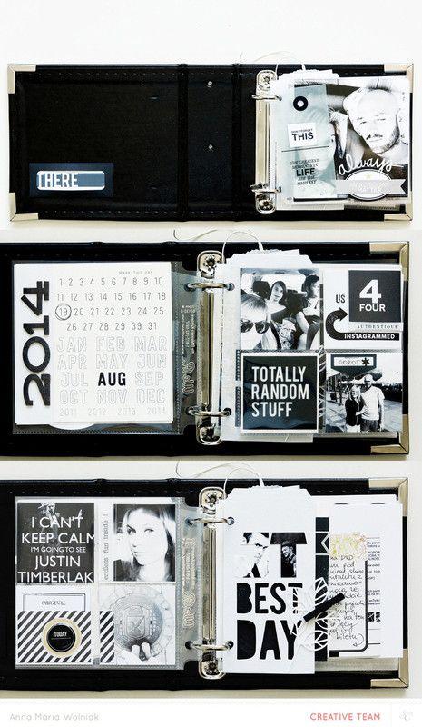 suit & tie mini album by ania-maria at @studio_calico