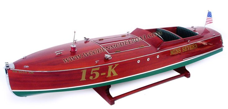 Miss Severn 15-K Model Boat
