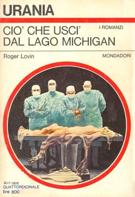 754  CIO' CHE USCI' DAL LAGO MICHIGAN 30/7/1978  THE PRESENCE (1977)  Copertina di  Karel Thole   ROGER LOVIN
