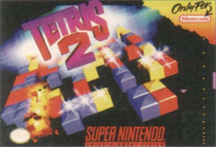 Tetris 2 (Super Nintendo SNES, 1994)