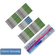 Combinatiepakket 4  Dit pakket bestaat uit 40 ovulatietesten dipstick 8 uiterst gevoelige zwangerschapstesten dipstick en 1 Clearblue zwangerschapstest met conceptie-indicator  EUR 37.50  Meer informatie