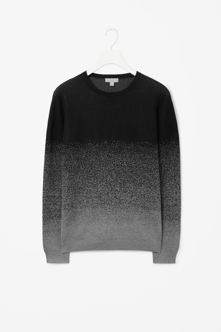 Degrade jacquard jumper