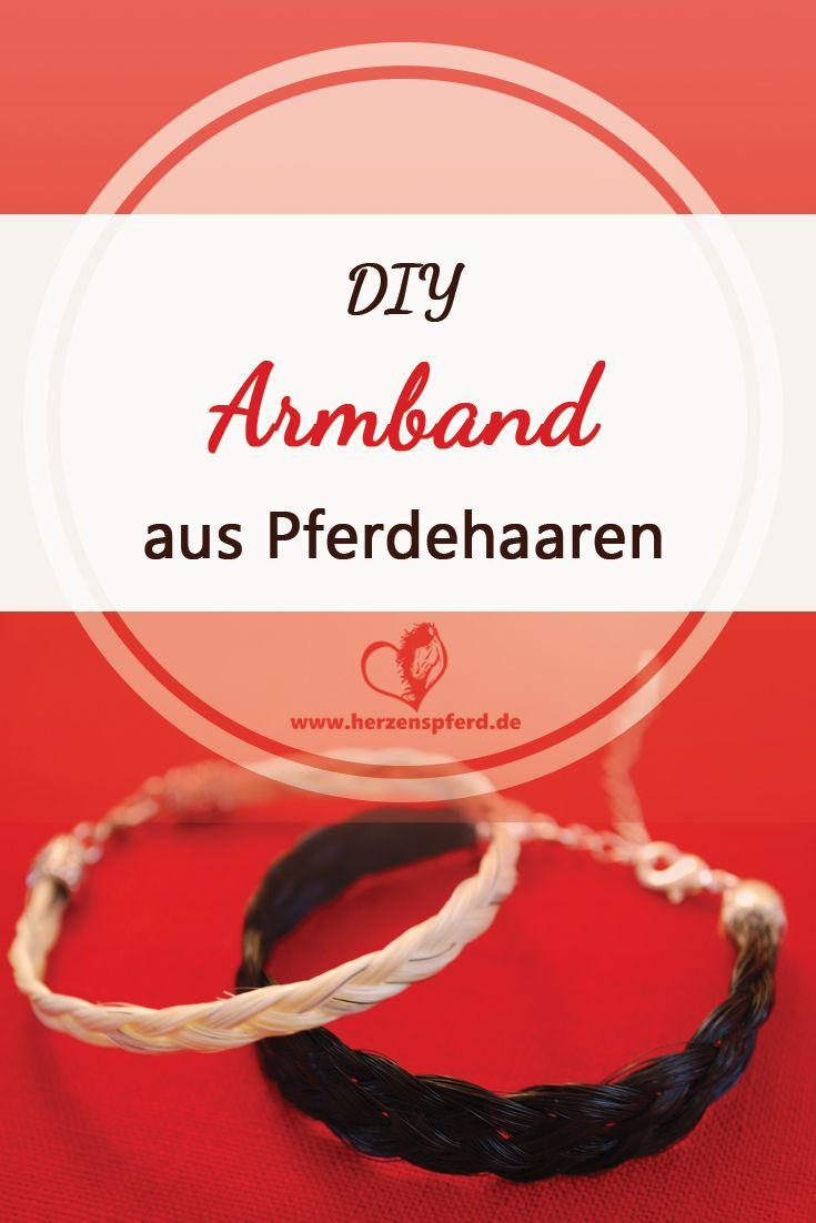 Anleitung, wie Du ein Armband aus Pferdehaaren einfach selbst machen kannst!