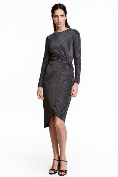 Draped dress   H&M