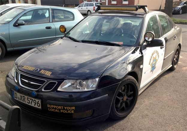 Saab Police Car for Sale http://www.saabplanet.com/saab-police-car-for-sale/