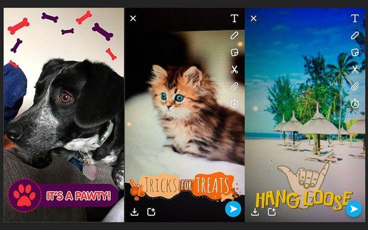 Você vai amar os novos filtros do Snapchat!