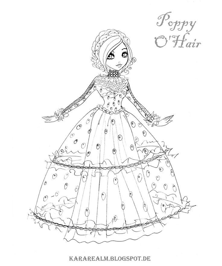 60 best Coloring Pages images on Pinterest Ever after high