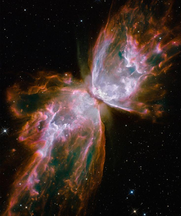 Nebulosa NGC 6302.  Telescopio espacial Hubble.