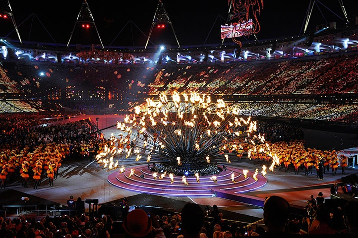 The Olympic Flame is extinguished to be reborn in Rio de Janeiro in 2016