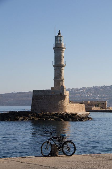 *Chania Lighthouse - Crete, Greece