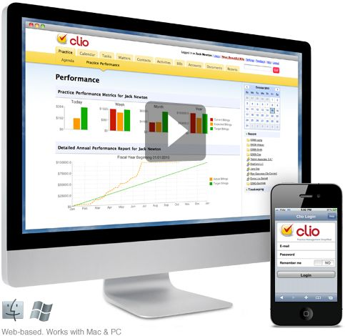 Clio. Law Firm Management Software.