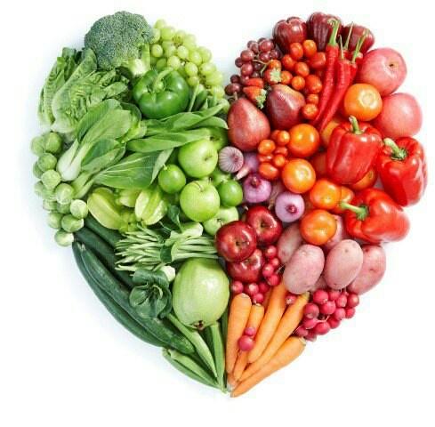 El corazón de Carbonell está lleno de comida saludable.