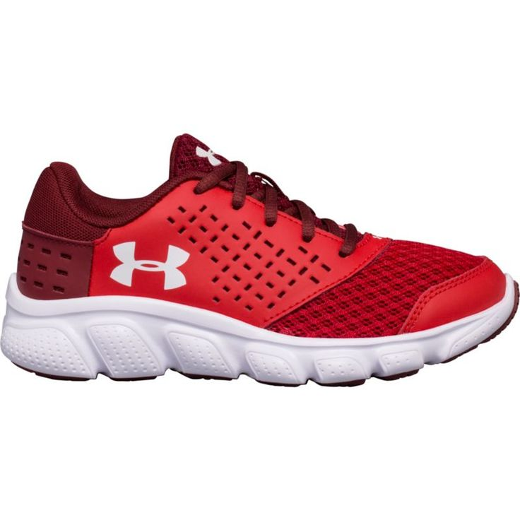 Under Armour Kids' Preschool Rave RN Running Shoes, Boy's, Red