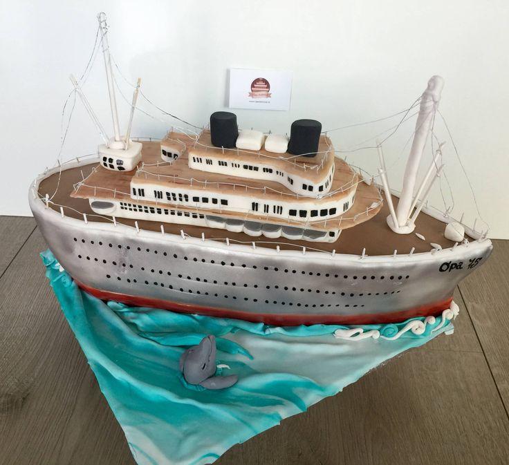 schip taart