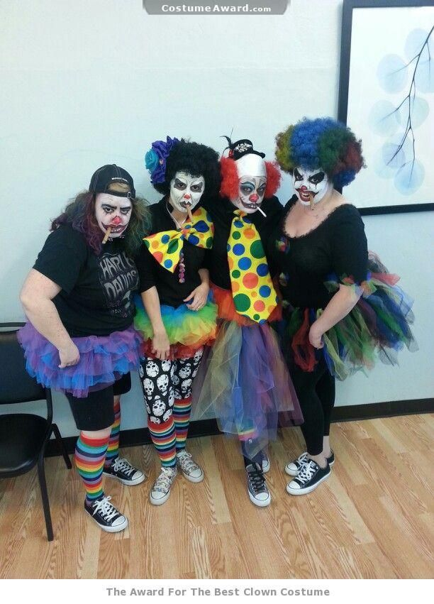 how to make a scary clown costume