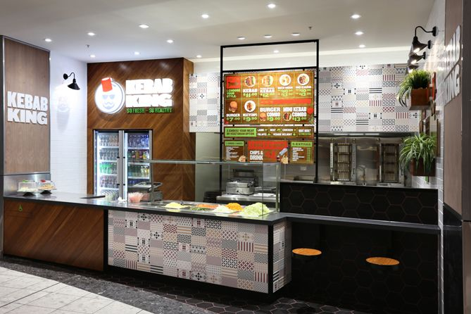 Kebab King | Our client – Kebab King wanted to transition this insalubrious image to something which resonated fresh, healthy and highly appealing.