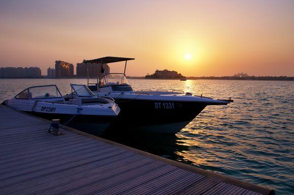 Dubai Bay Sunset