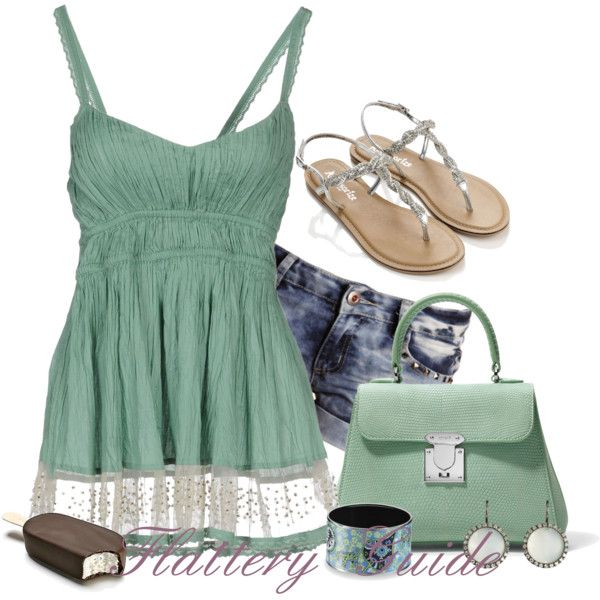 A fashion look from August 2014 featuring Twin-Set tops, Boohoo shorts and Accessorize sandals. Browse and shop related looks.