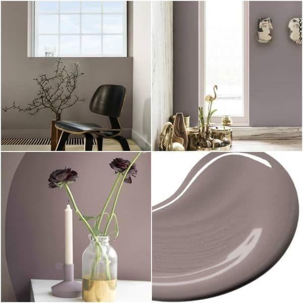 Ένα ουδέτερο Ροζ-γκρι χρώμα, ιδανικό για όλα τα δωμάτια του σπιτιού