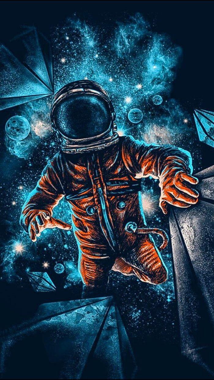 Wallpaper Wallpaper Space Space Artwork Astronaut Wallpaper