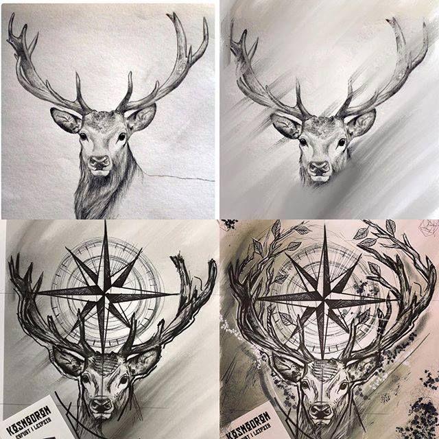 Tattoo Tier Hirsch Inspiration 52 Ideen Fur