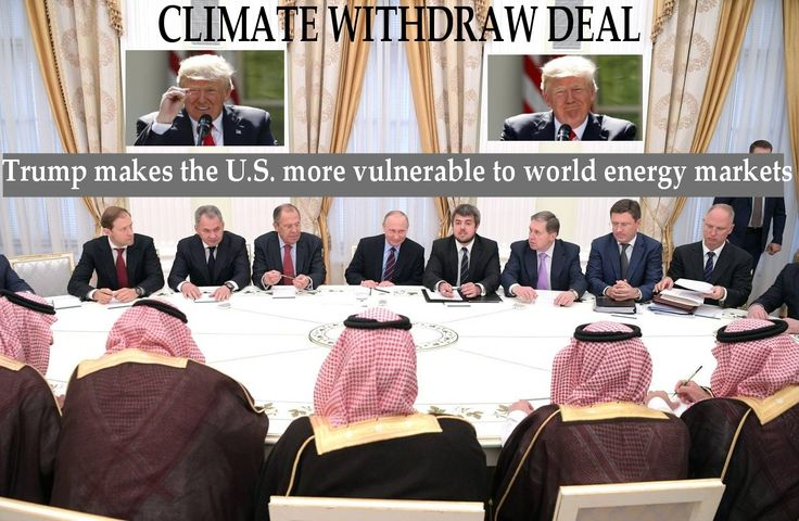 Russia, Saudi Arabia Explore Expanding Oil Alliance .  The two greatest beneficiaries of Trump's shenanigan are Russia and Saudi Arabia.