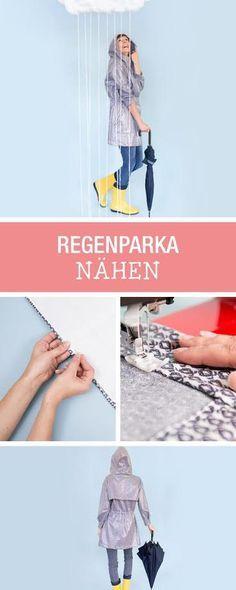 DIY-Anleitung: Nähanleitung für eine Regenjacke, Mode selbernähen / diy sewing tutorial for a rain coat made by Lillestoff via DaWanda.com