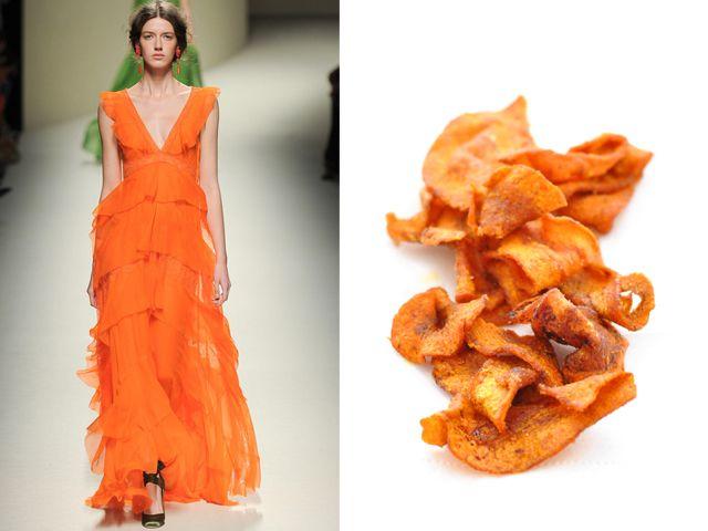 Alberta Ferretti ss 2013 / Carrot chips