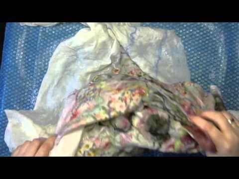 Формирование ровного края валяного изделия - YouTube