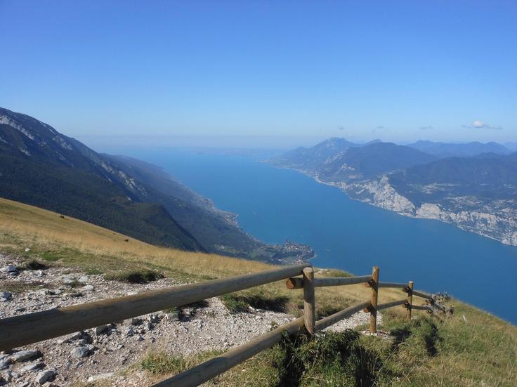 Lake Garda, vieuw from Monte Baldo