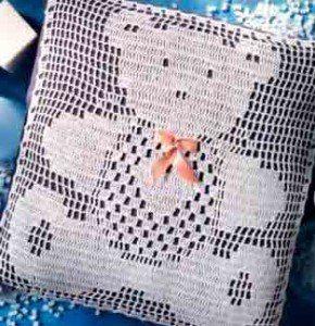 Филейное вязание, подушки с животными / Удивительная еда!