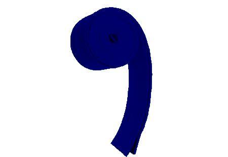 Shammy Shack overgrip dark blue.