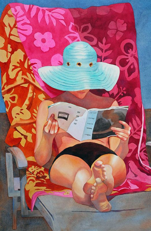 — Anne Abgott   Award-Winning Watercolor Artist: