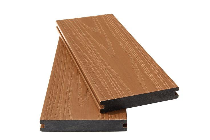 Super impermeable Co-Extruido suelo al aire libre #Co-extrudeddecking #Co-extrudedfloor #Co-extrudedflooring