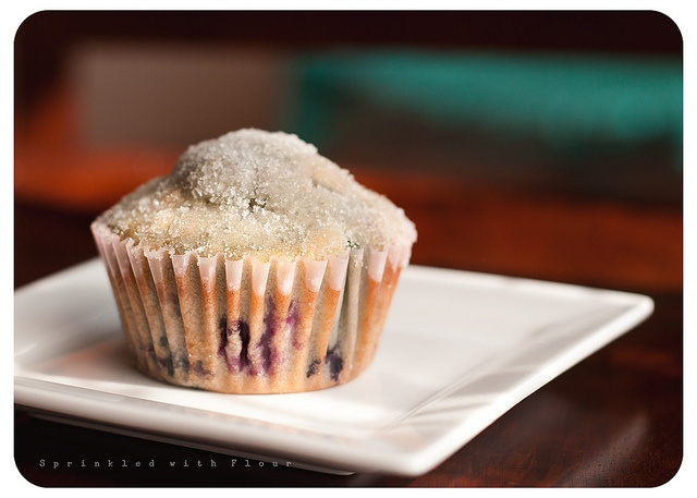 Lemon Blueberry Crunch Muffins by Amber (Sprinkled With Flour), via Flickr