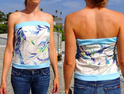 How to make a Summer Tube Top